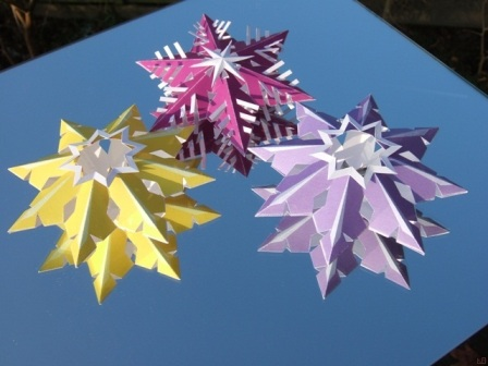 Christmas stars decoration