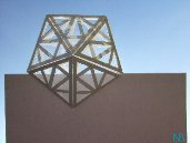 crystal card, Origamic Architecture, Pop-up 360 degrees